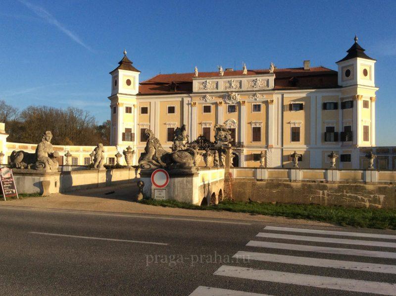 Замок Милотице 1