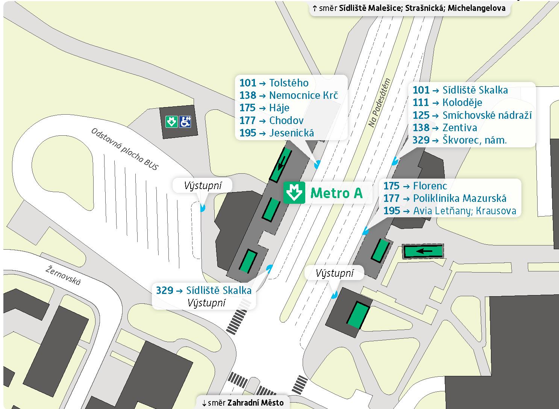 Станция метро Skalka